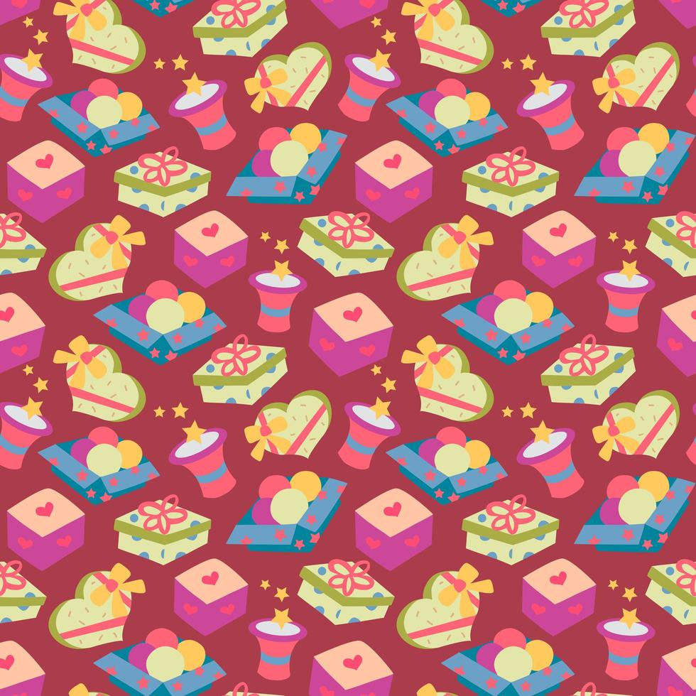 gelukkige verjaardag naadloze patroon vector