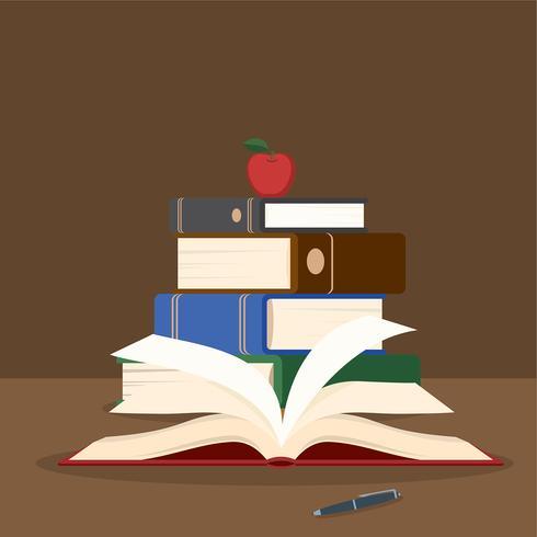 Libro Illustratie Gratis Vector