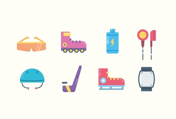 Kleurrijke sport iconen vector