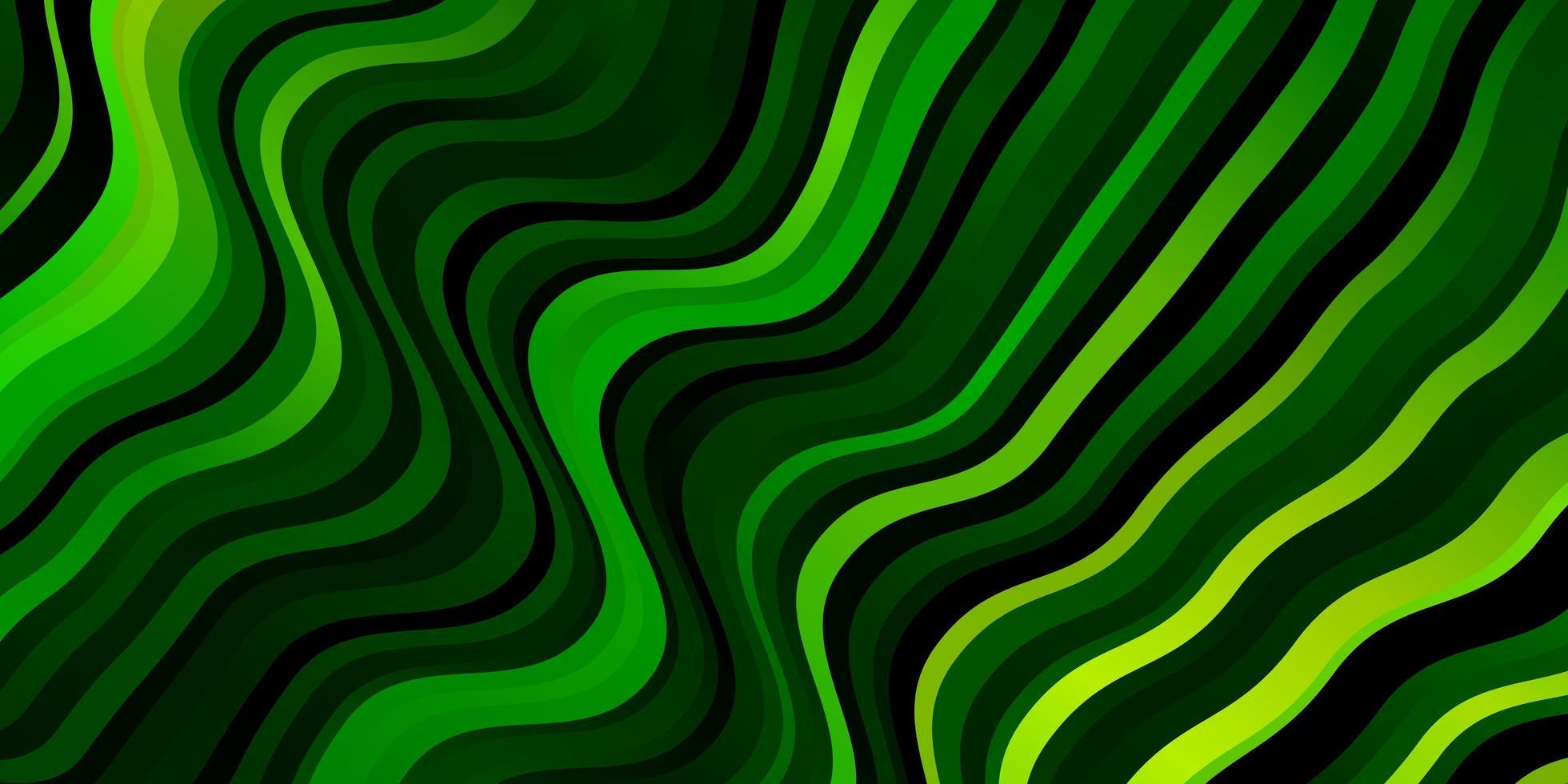 lichtgroene lay-out met rondingen. vector