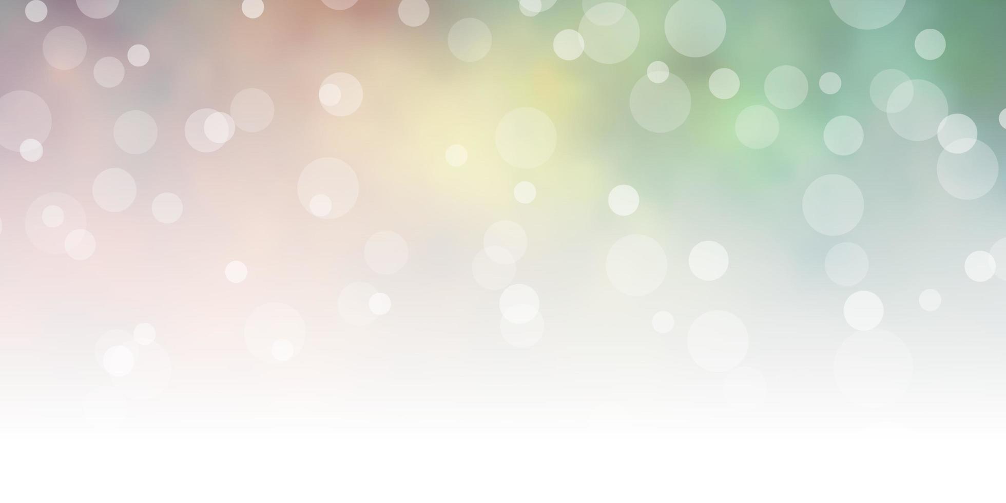 donkergroene, gele achtergrond met cirkels. vector