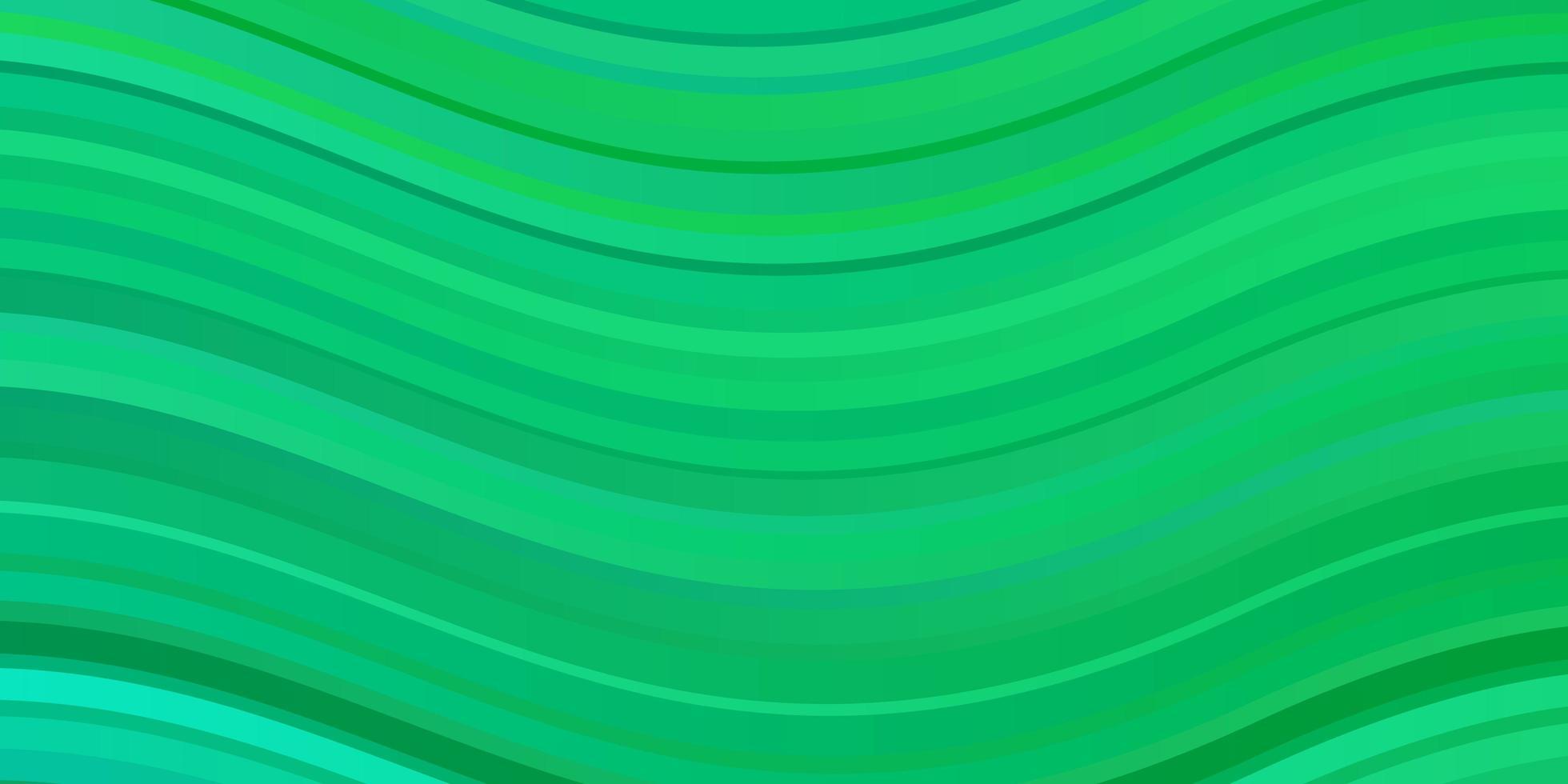 lichtgroene achtergrond met wrange lijnen. vector