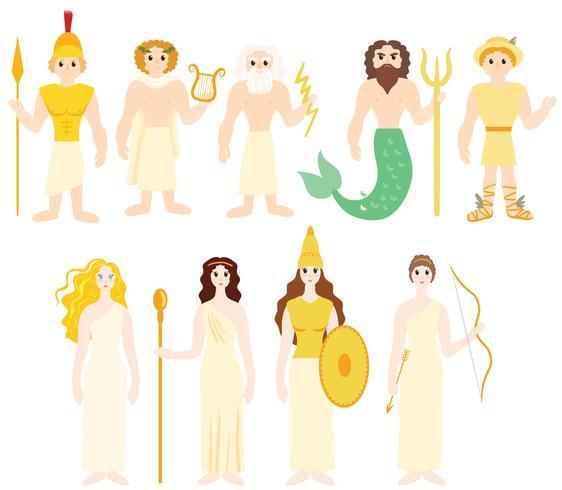 Gratis Griekse goden vectoren