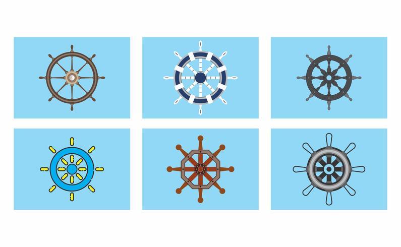 schepen wiel vector pack