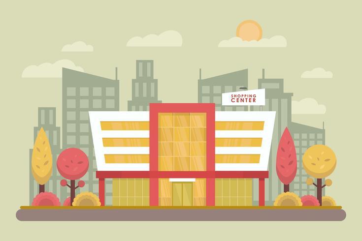 Gratis winkelcentrum vectoren