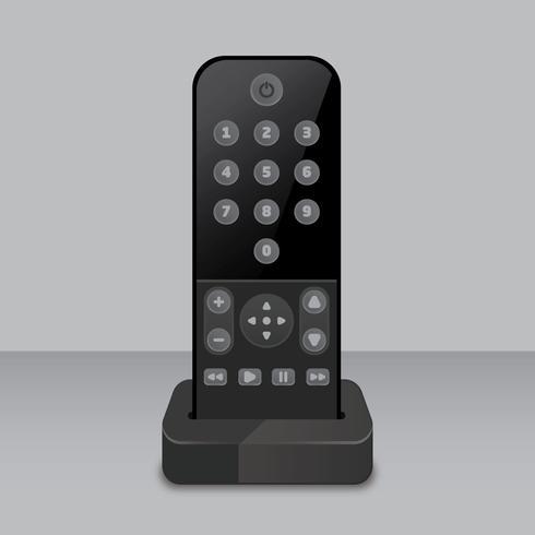 tv externe vectorillustratie vector