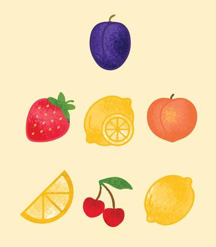 Gratis Gezonde Fruit Vector