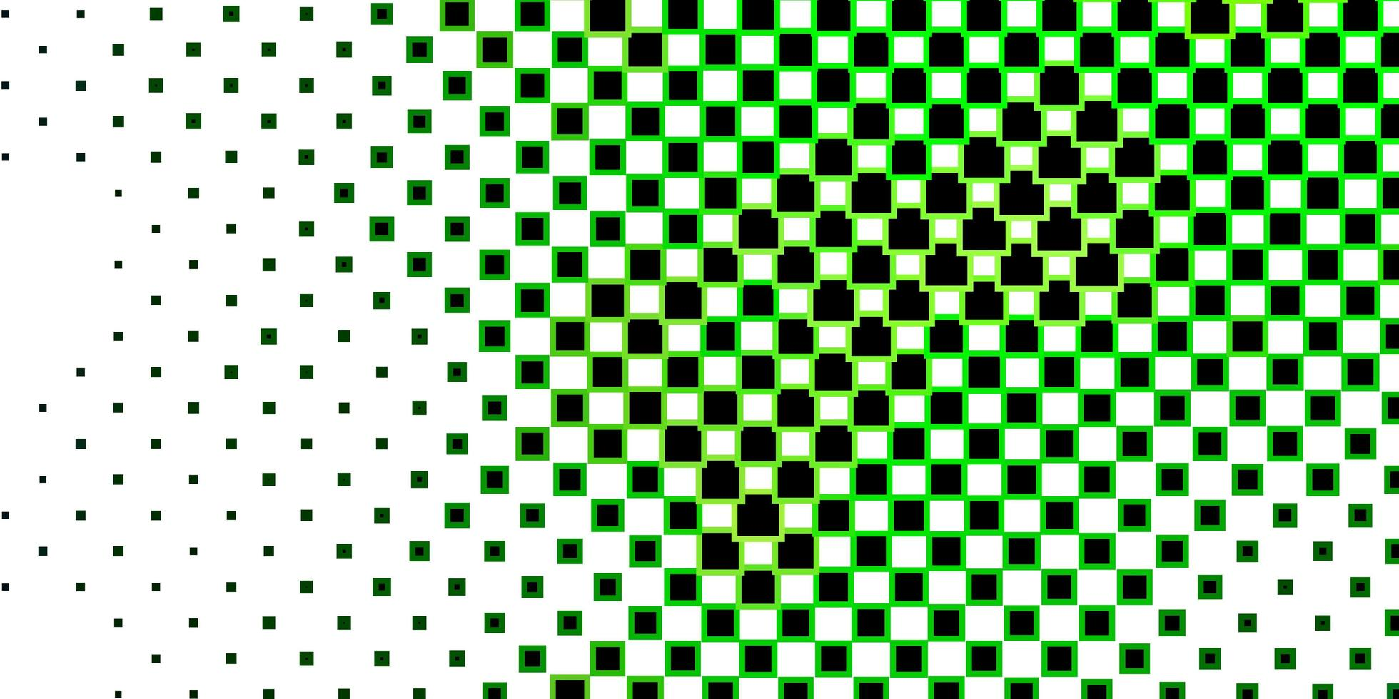 donkergroene achtergrond met rechthoeken. vector