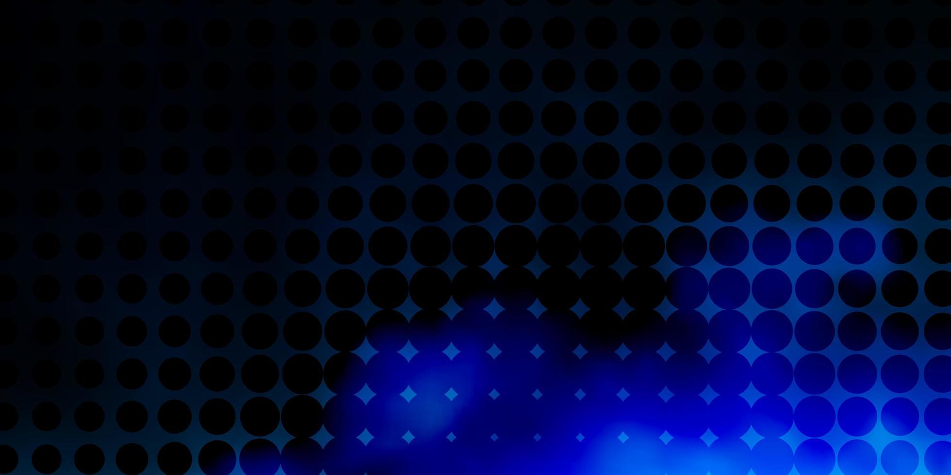 blauwe achtergrond met vlekken. vector