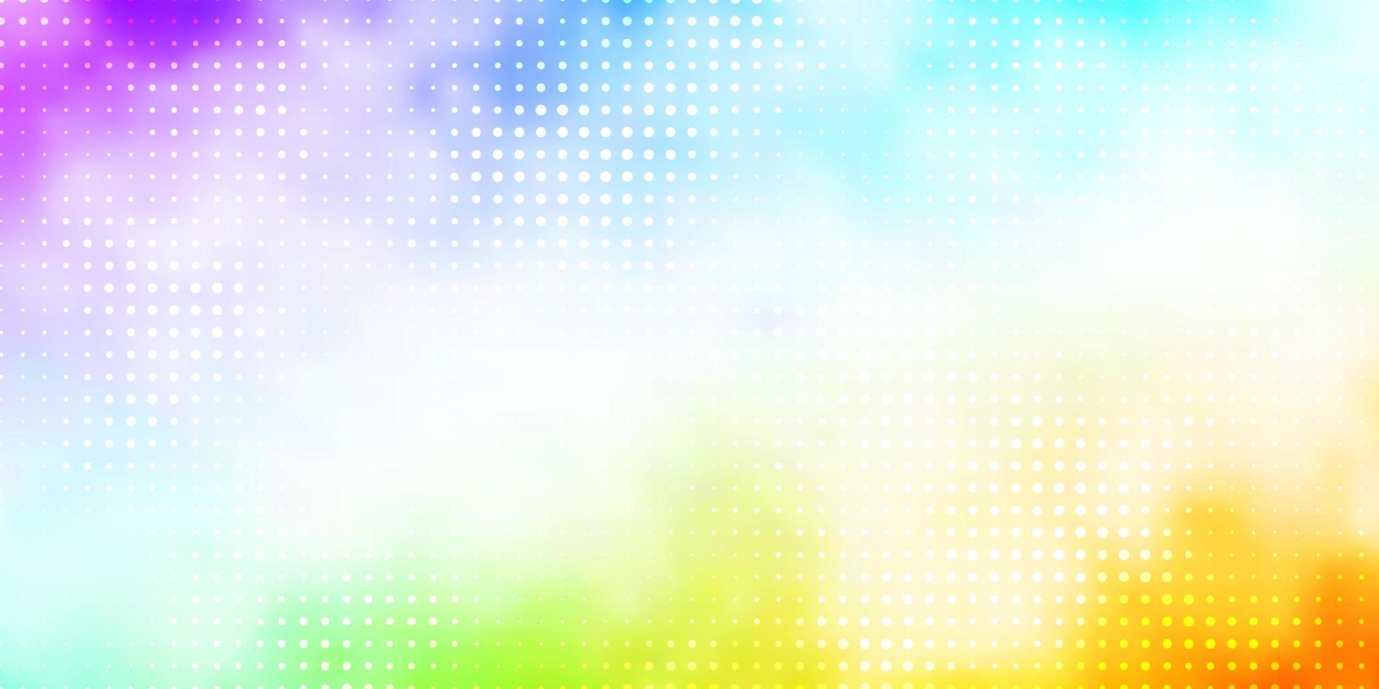 veelkleurige sjabloon met cirkels. vector