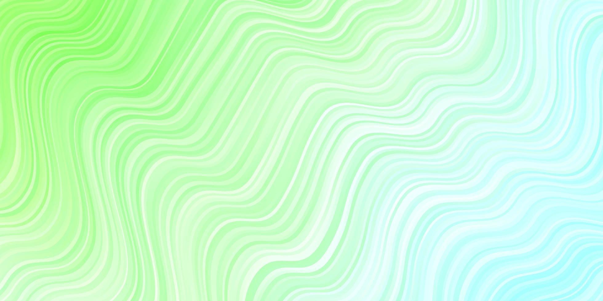 lichtgroene textuur met rondingen vector