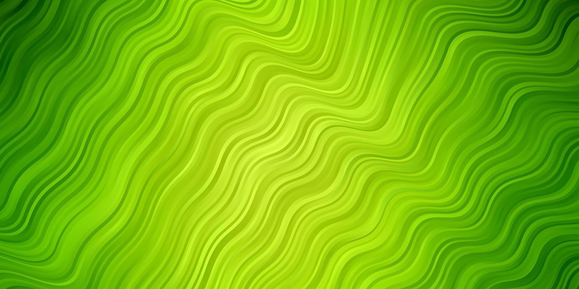 lichtgroene achtergrond met bogen. vector