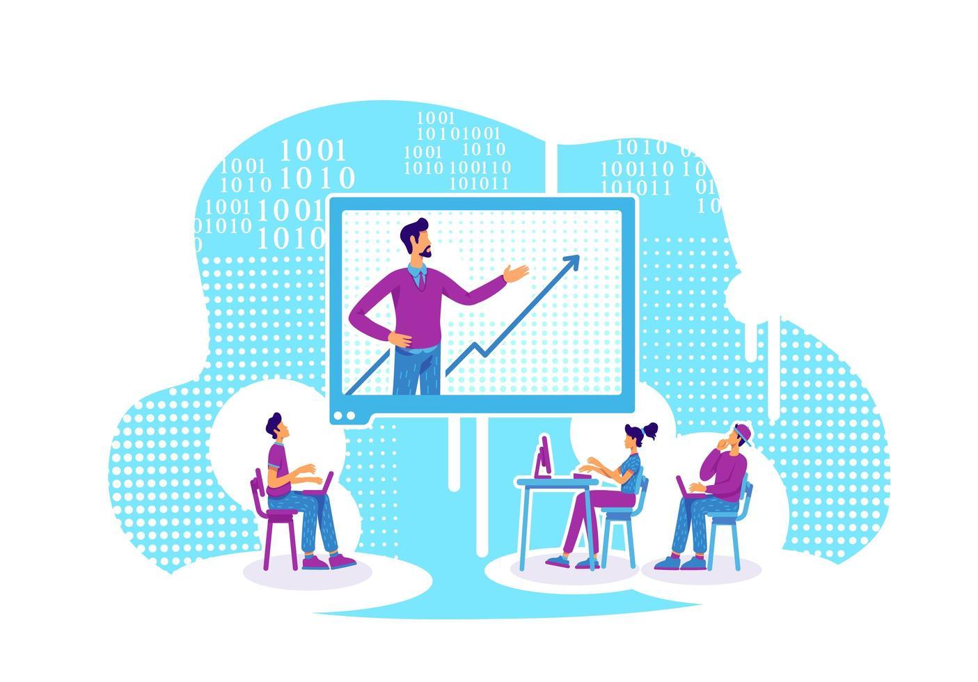 online les over gegevensanalyse en codering vector