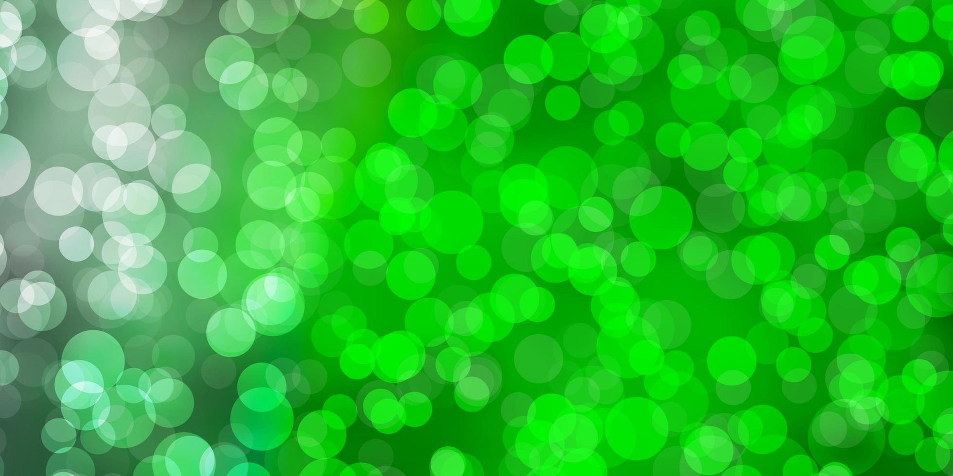 lichtgroene textuur met schijven. vector