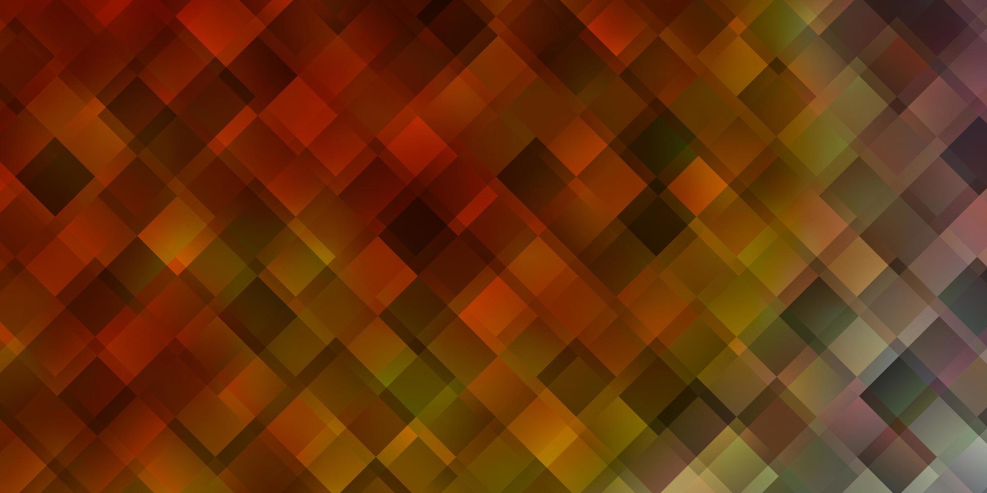 rode en gele sjabloon met rechthoeken. vector