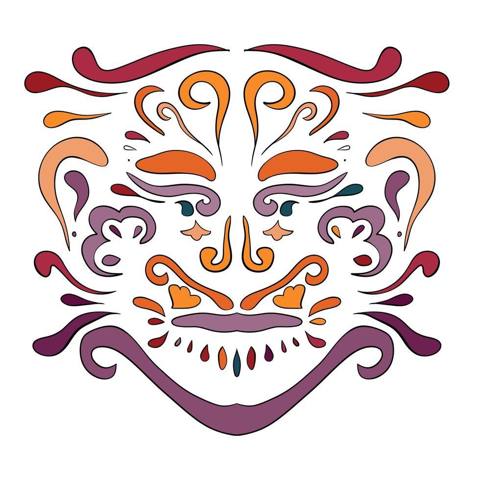 etnisch patroon. schoonheidsornament in bohostijl. vector