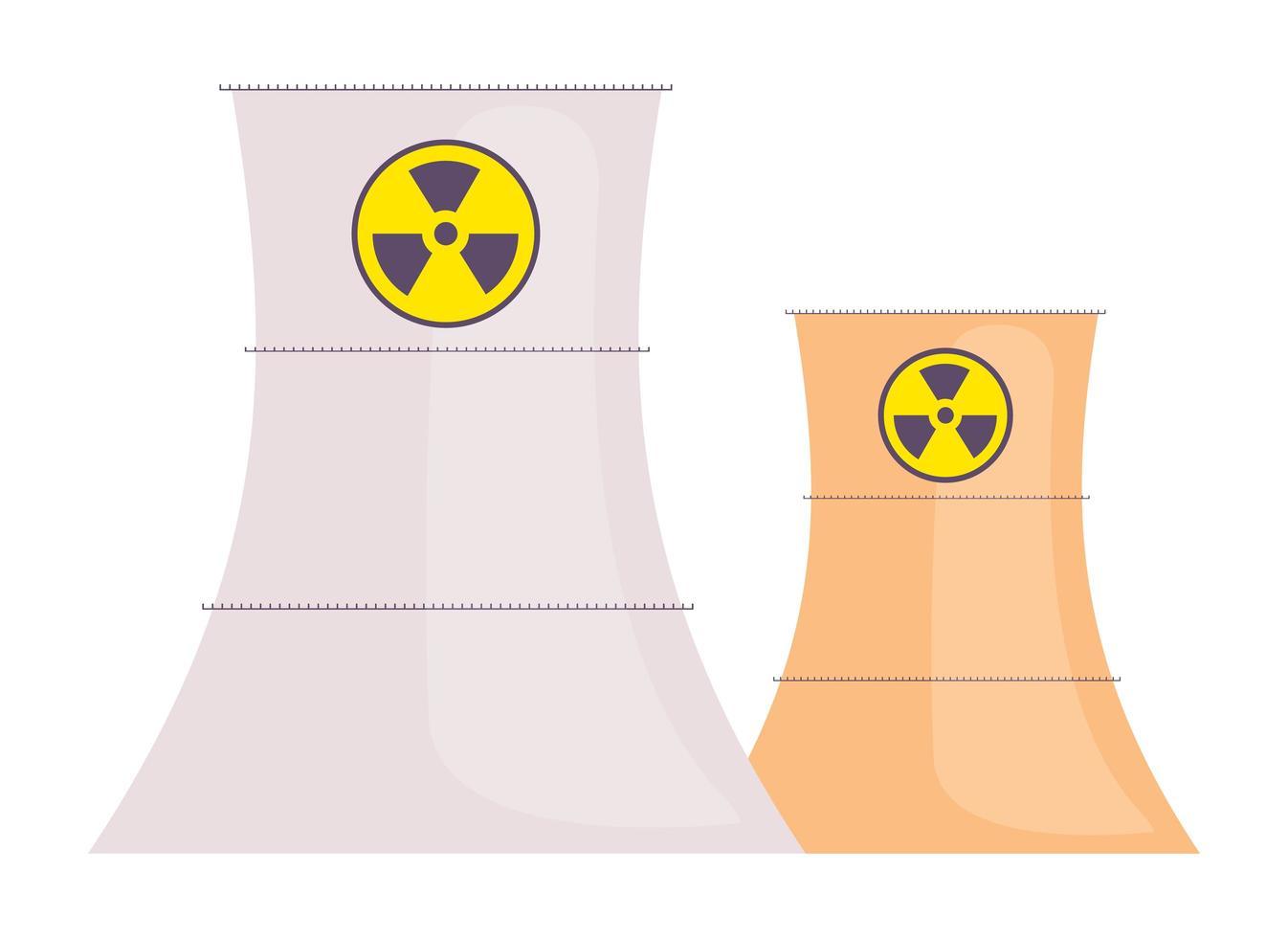 kernreactoren ingesteld vector