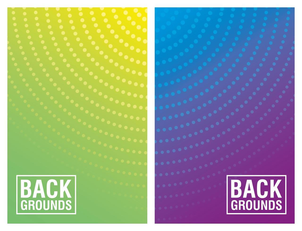 kleurrijke levendige abstracte achtergrond instellen vector