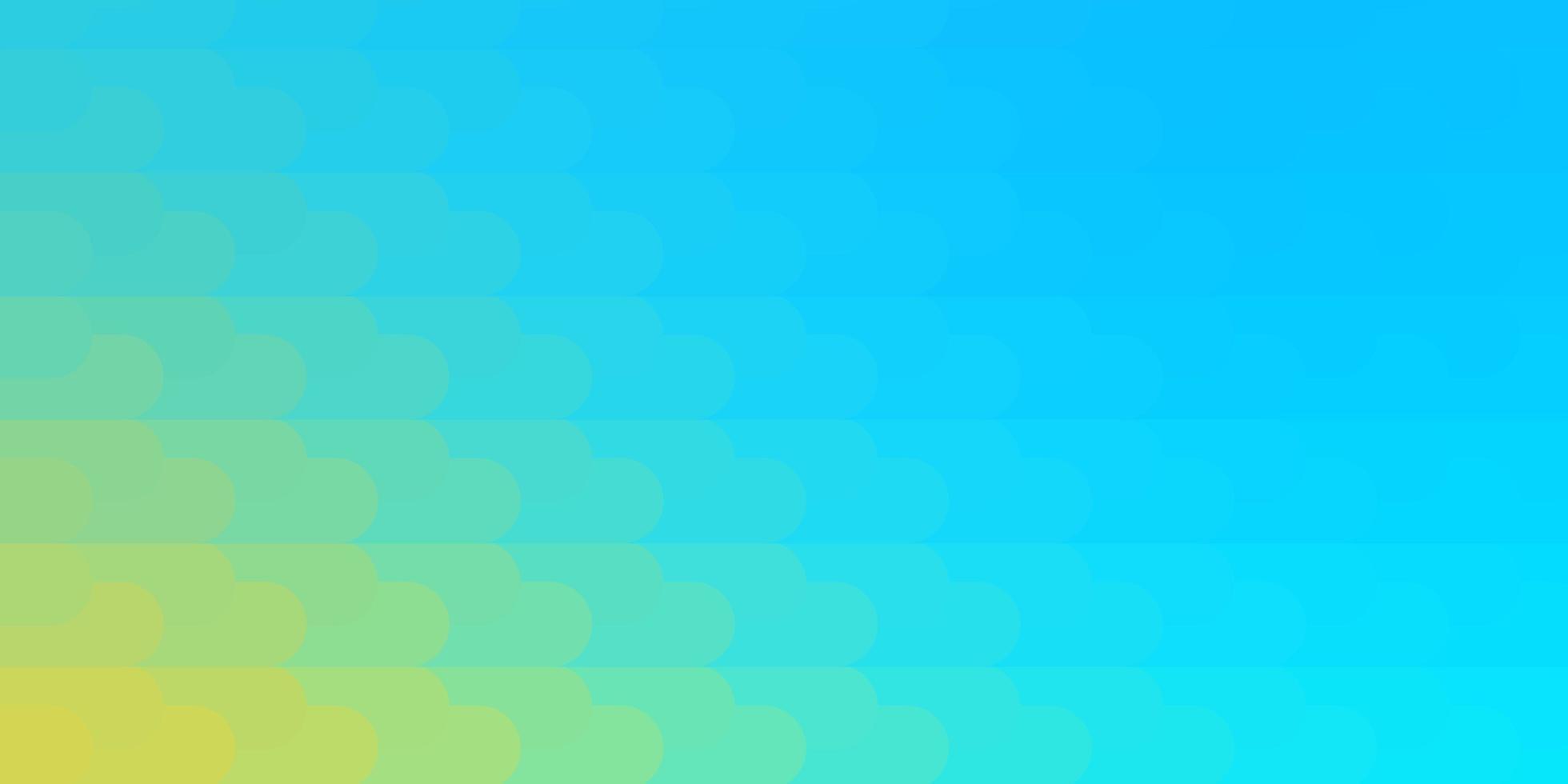 lichtblauwe, gele vectorachtergrond met lijnen. vector