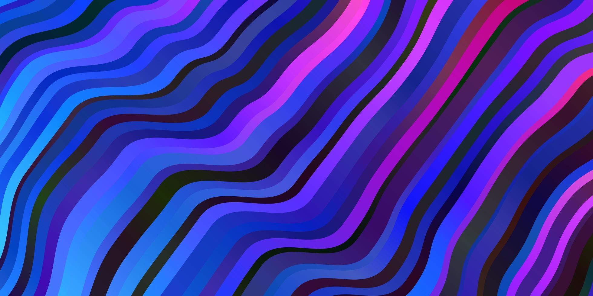 donkerblauwe, rode vectorlay-out met wrange lijnen. vector