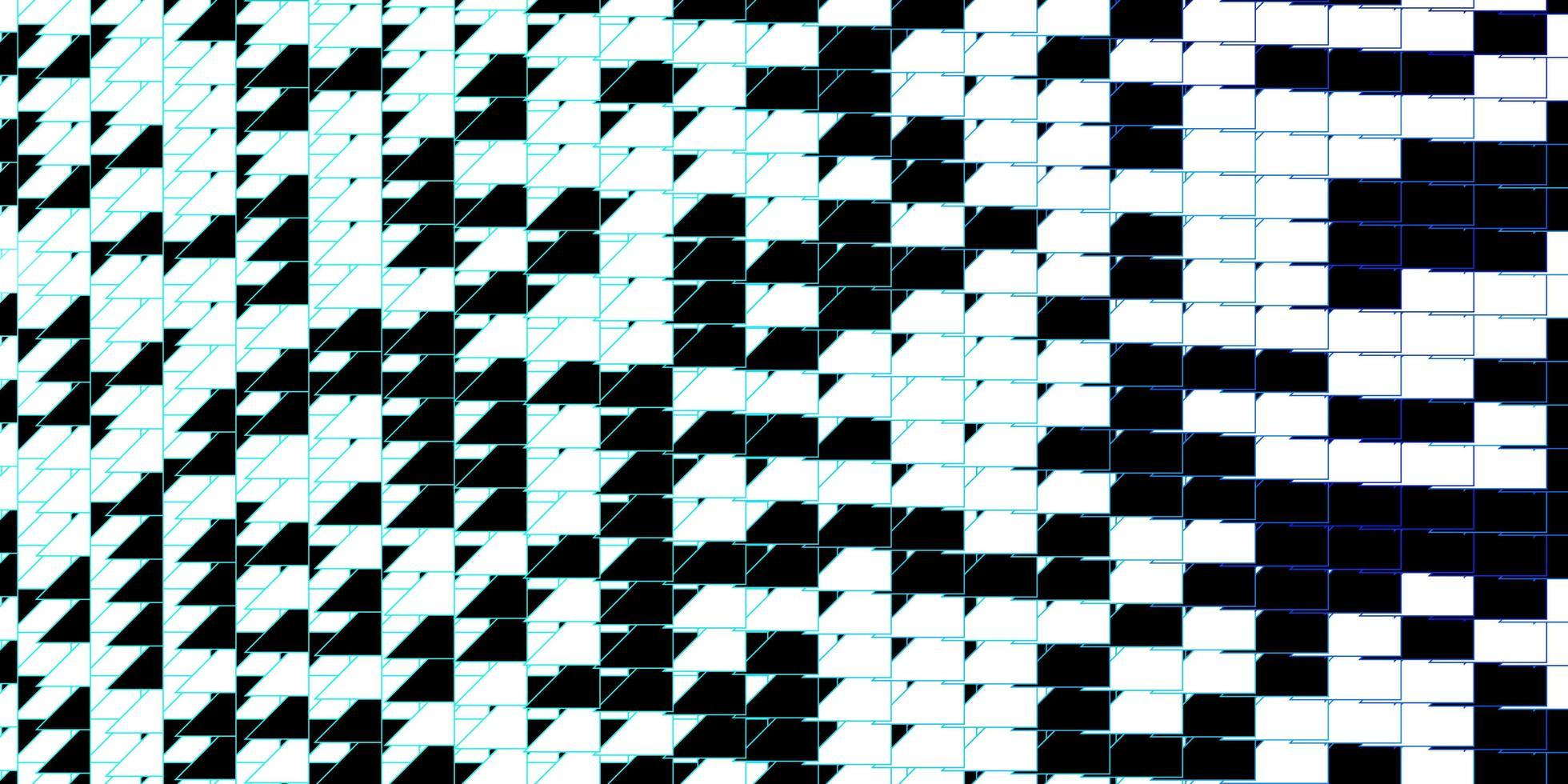donkerblauwe vectorachtergrond met lijnen. vector