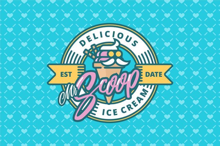 Ice Cream Shop-logo vector