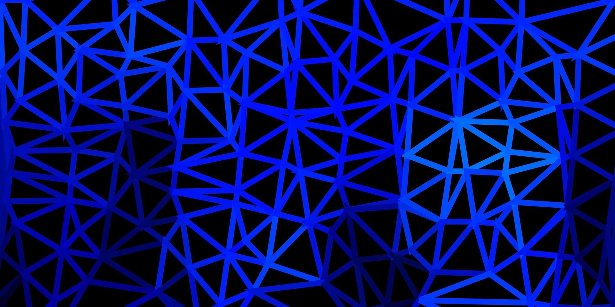 lichtblauwe vector kleurovergang veelhoek lay-out.