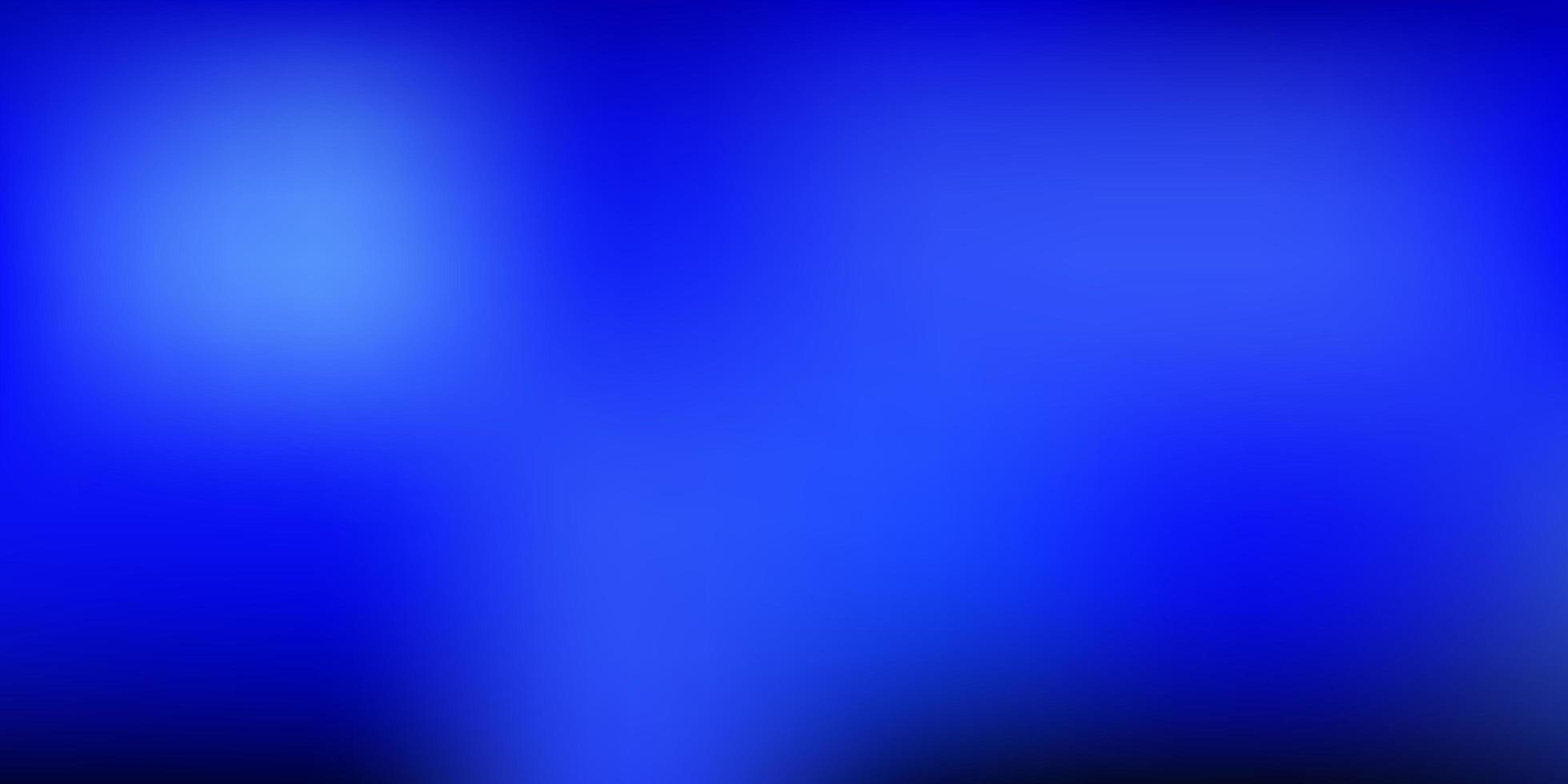 donkerblauwe vector achtergrond wazig.