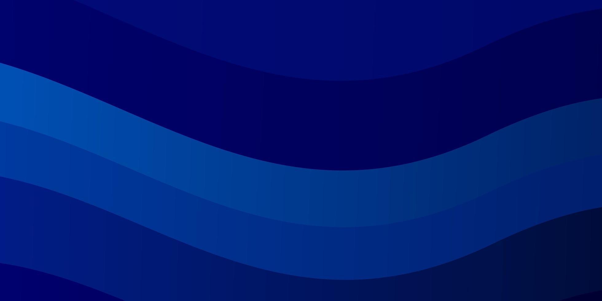 lichtblauwe vectormalplaatje met krommen. vector