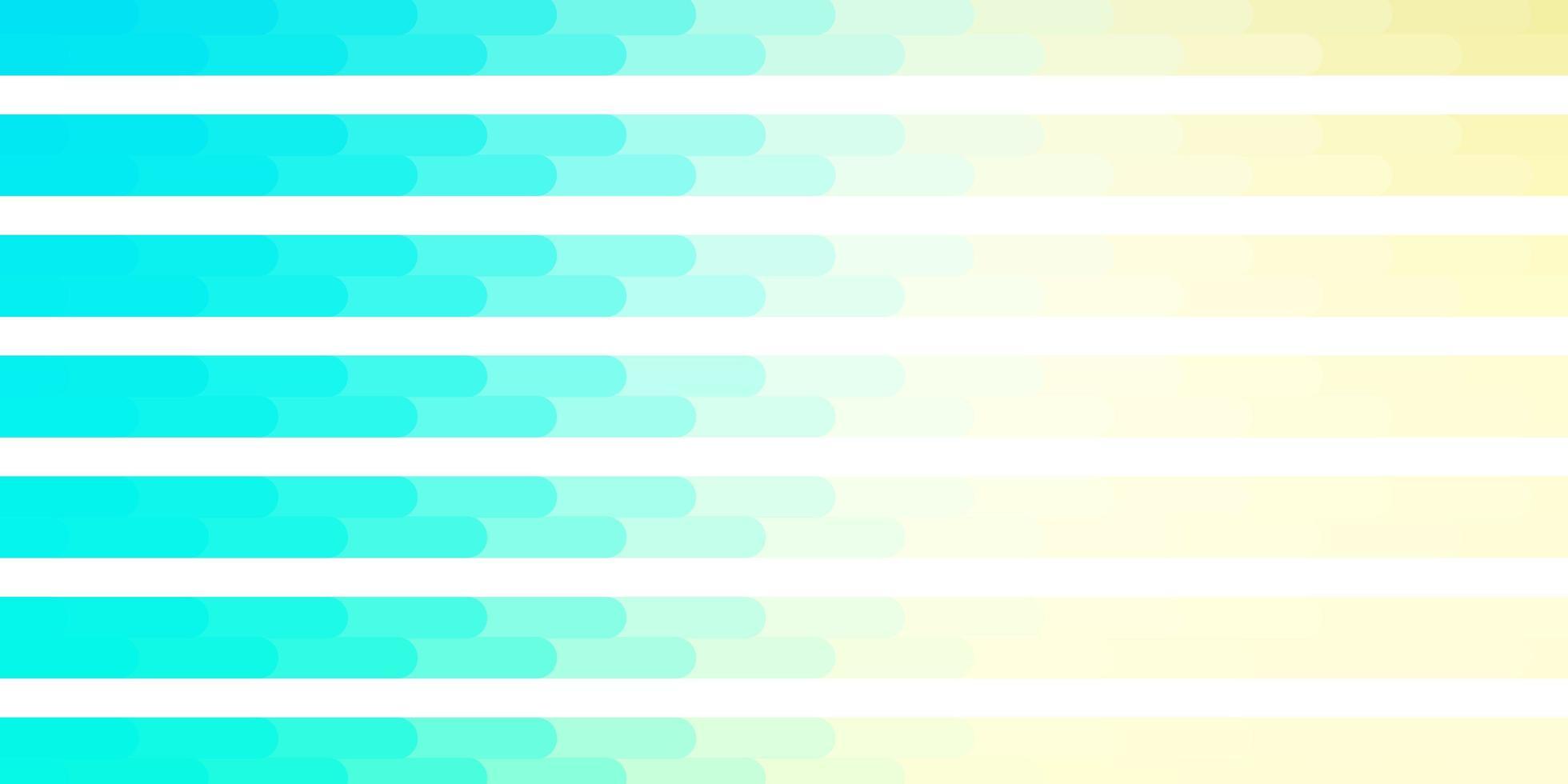 lichtblauwe, groene vectortextuur met lijnen. vector