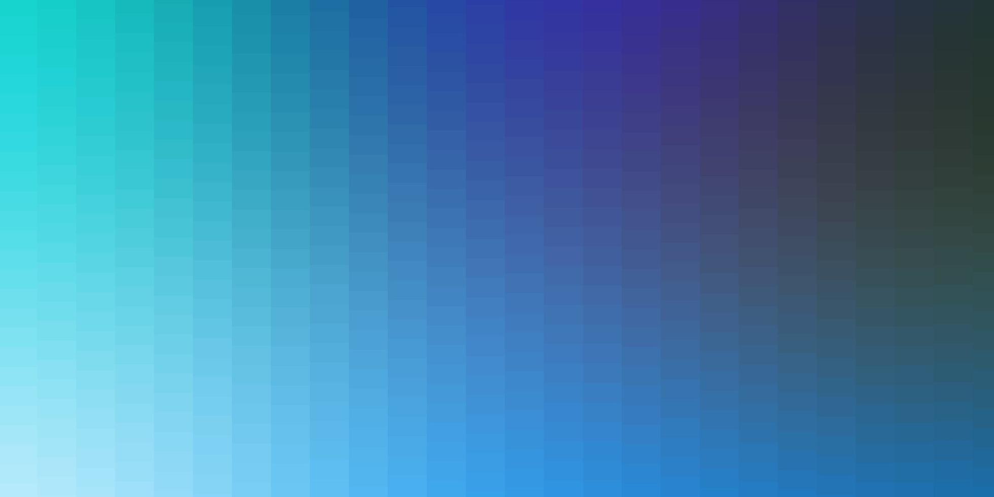 lichtblauwe, groene vectorlay-out met lijnen, rechthoeken. vector