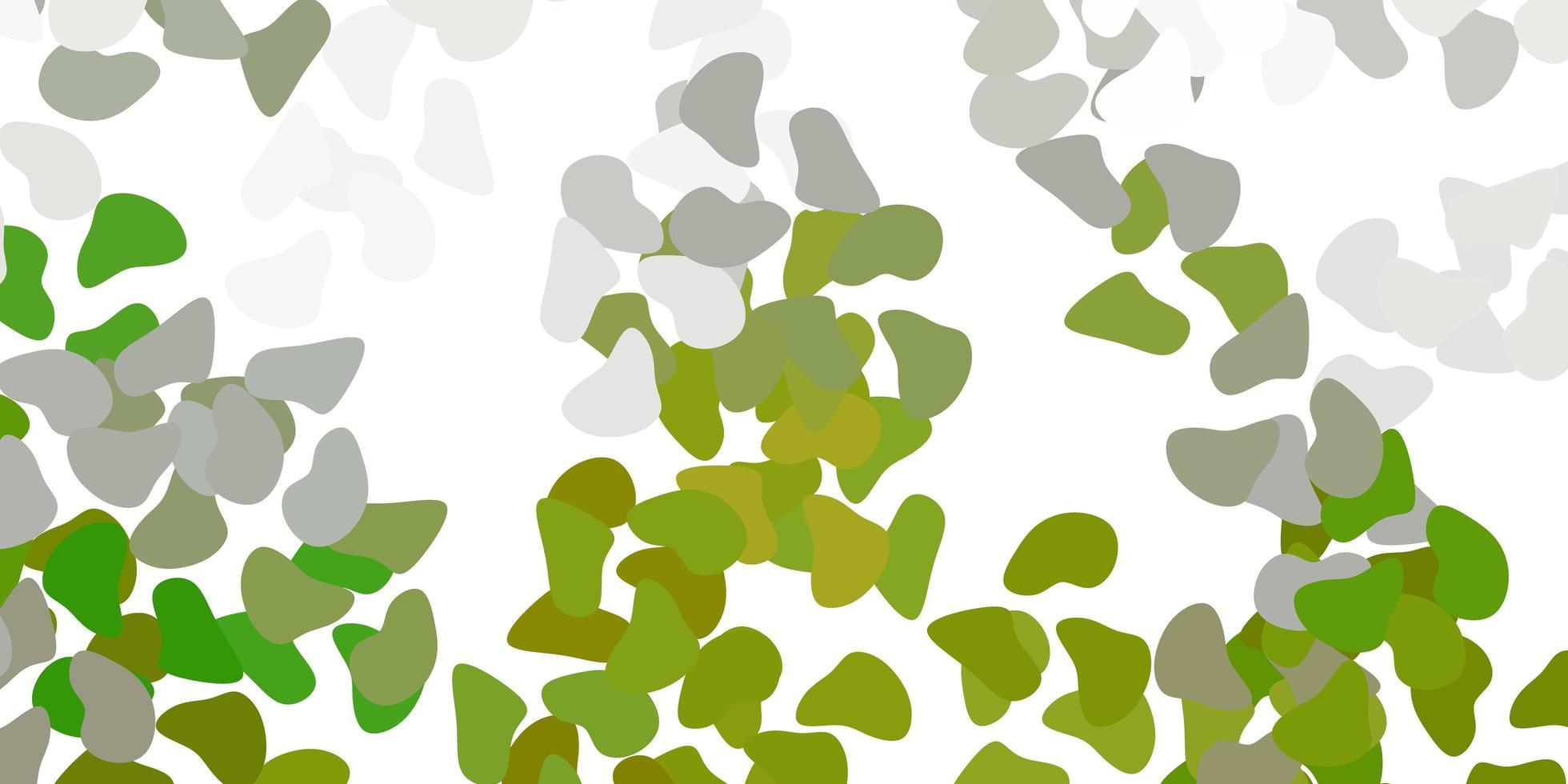 lichtgrijs vectormalplaatje met abstracte vormen. vector