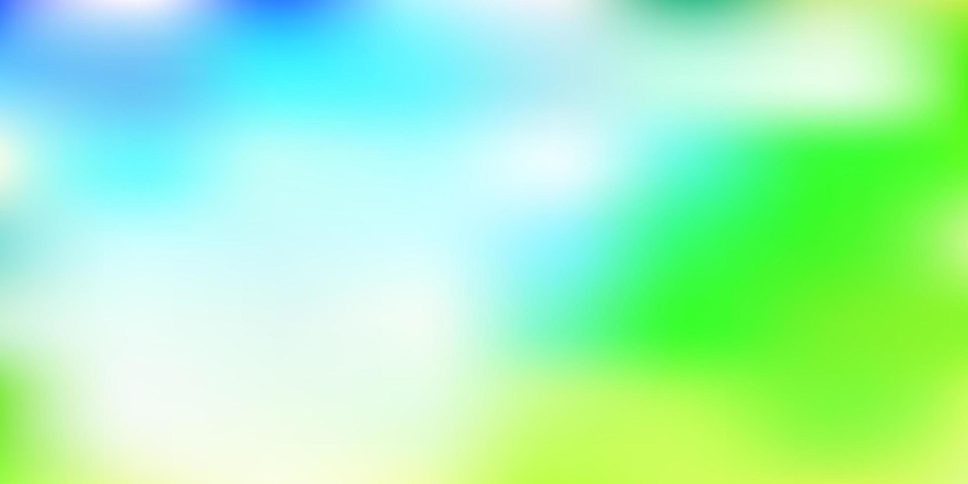 lichtblauw, groen vector verloop vervagen sjabloon.