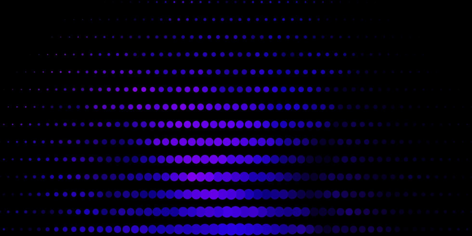 donkerroze, blauwe vectorachtergrond met vlekken. vector