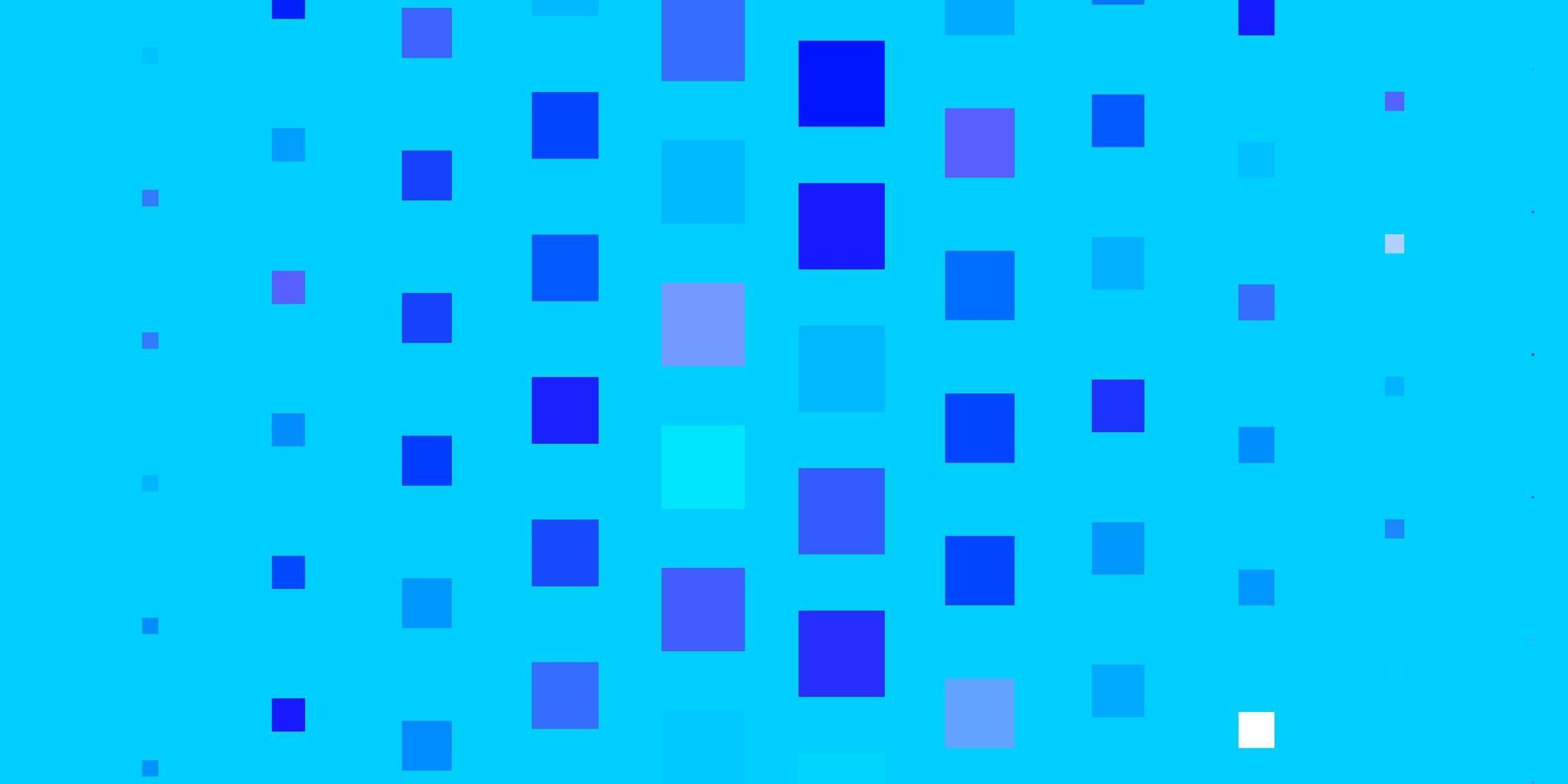 lichtroze, blauwe vectorlay-out met lijnen, rechthoeken. vector