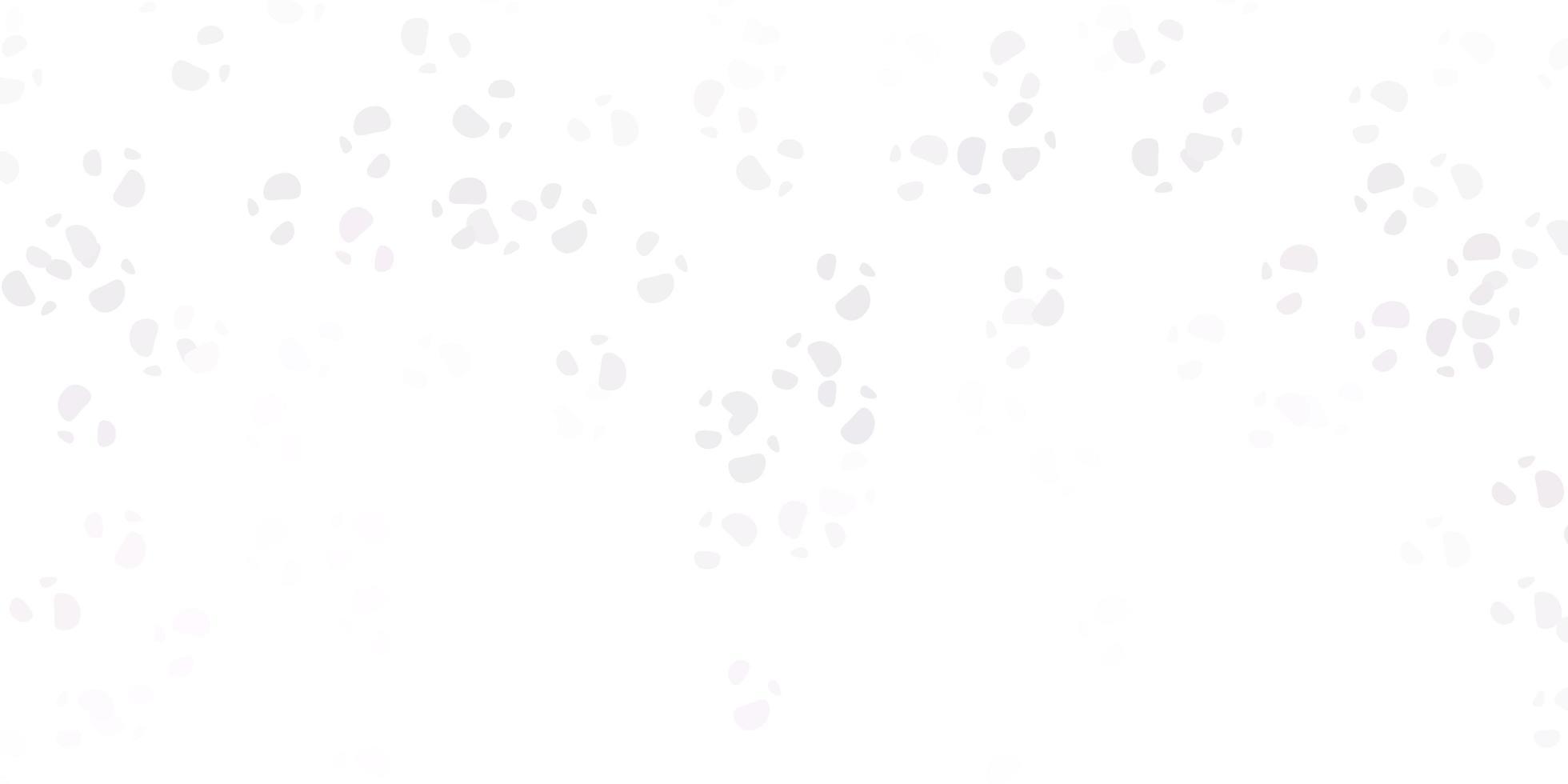lichtpaarse vectortextuur met Memphis-vormen vector