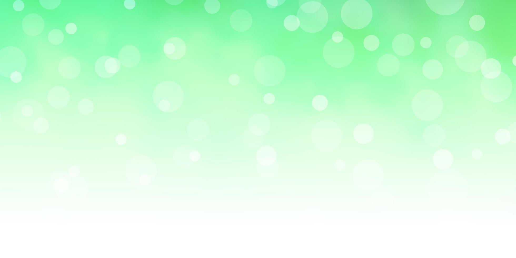 lichtgroen vector sjabloon met cirkels.