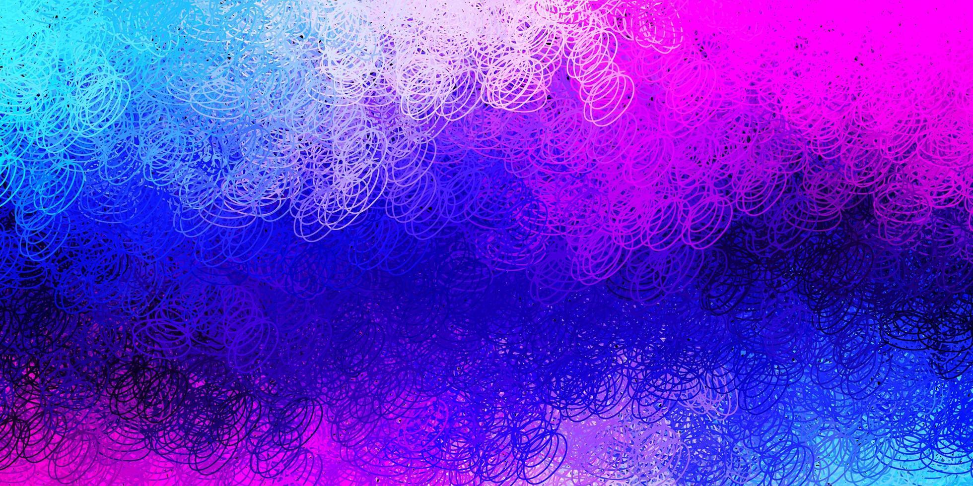 donkerroze, blauwe vectortextuur met schijven vector