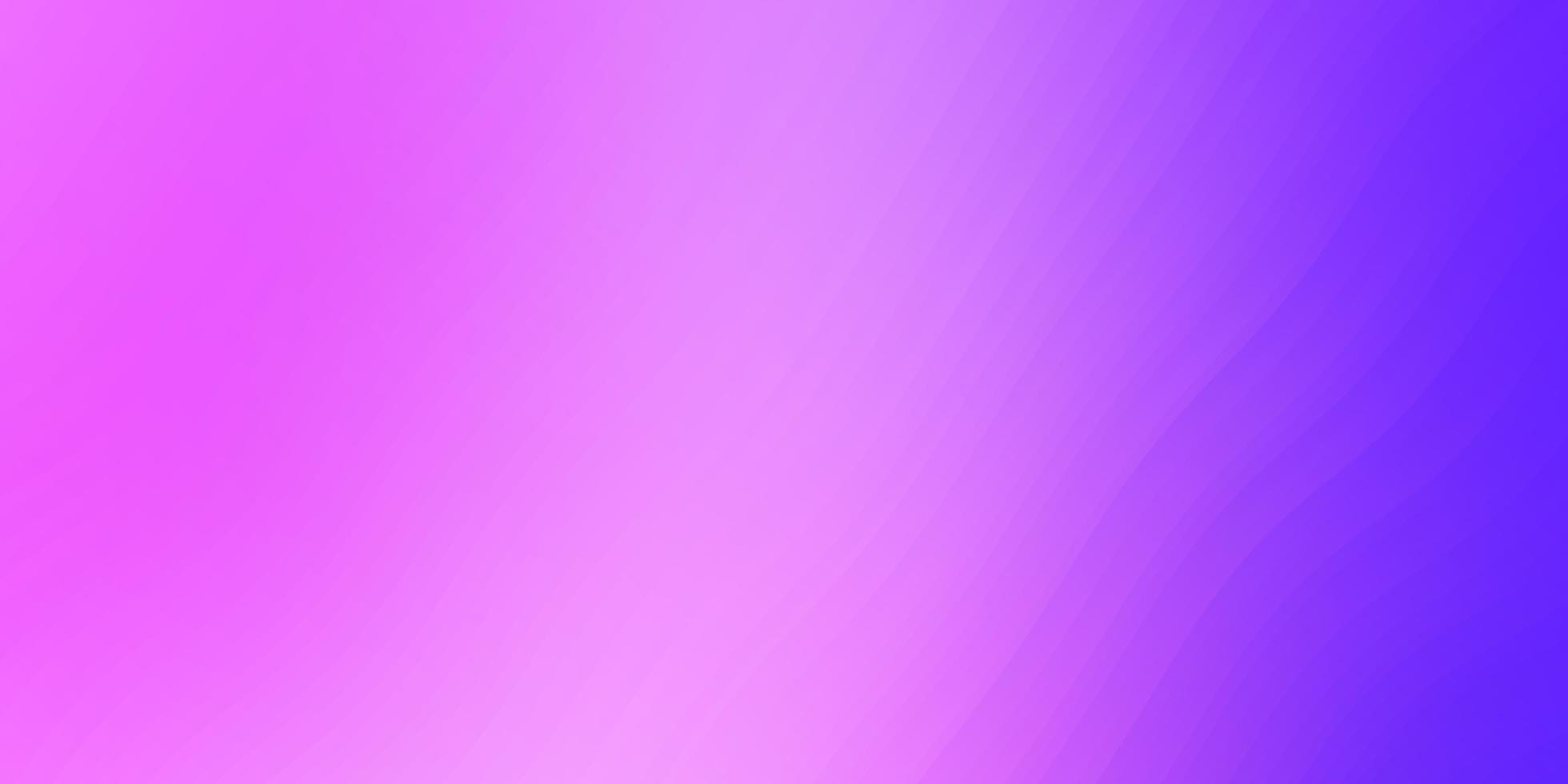 lichtpaarse vectorlay-out met wrange lijnen. vector