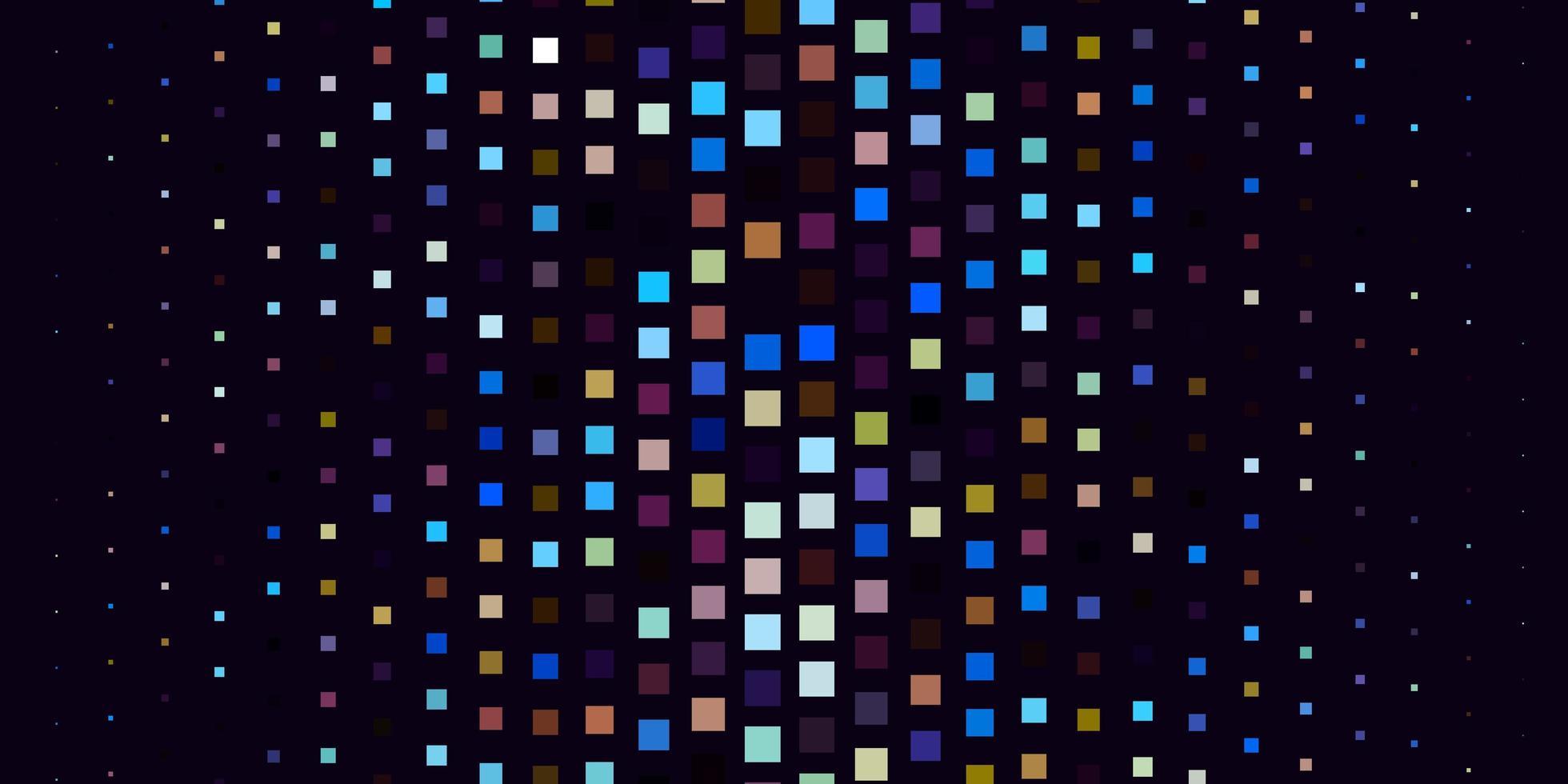 lichtblauwe, gele vectorachtergrond in veelhoekige stijl. vector