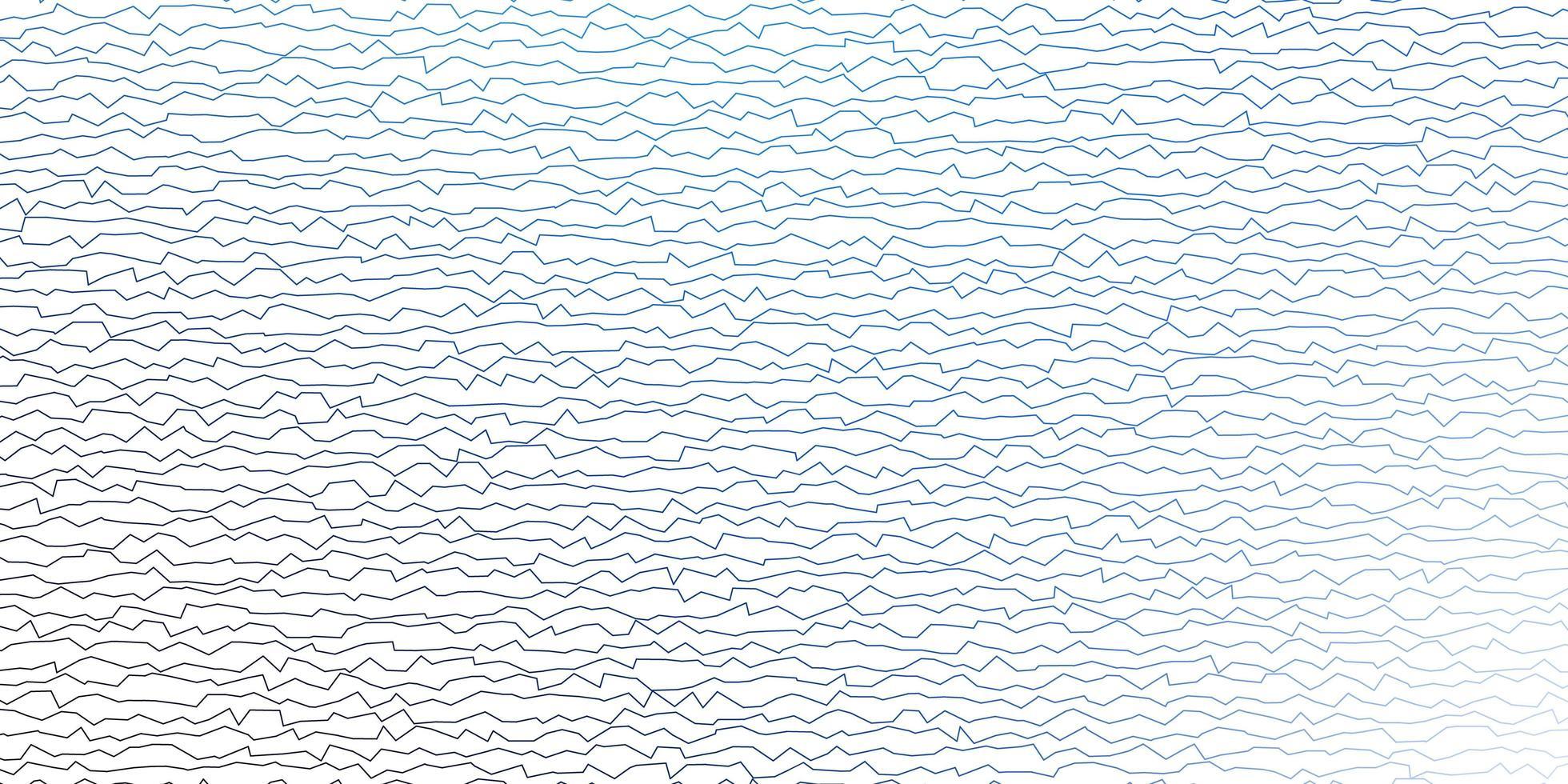donkerblauwe vectorlay-out met wrange lijnen. vector