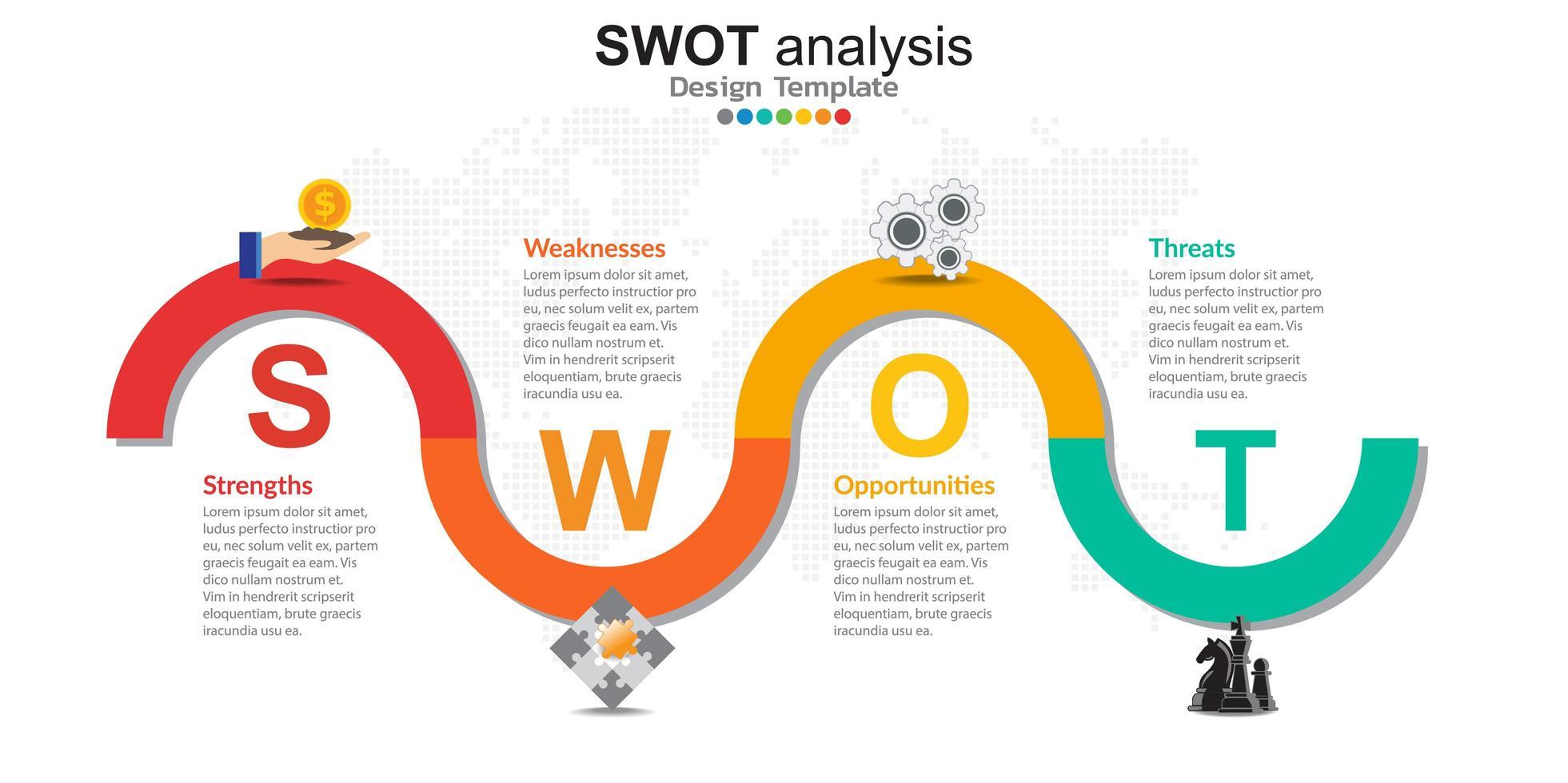 infographics voor bedrijfsconcept met pictogrammen en opties of stappen. vector