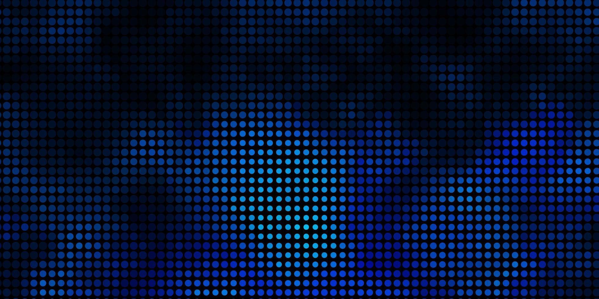 lichtblauwe vector achtergrond met bubbels.
