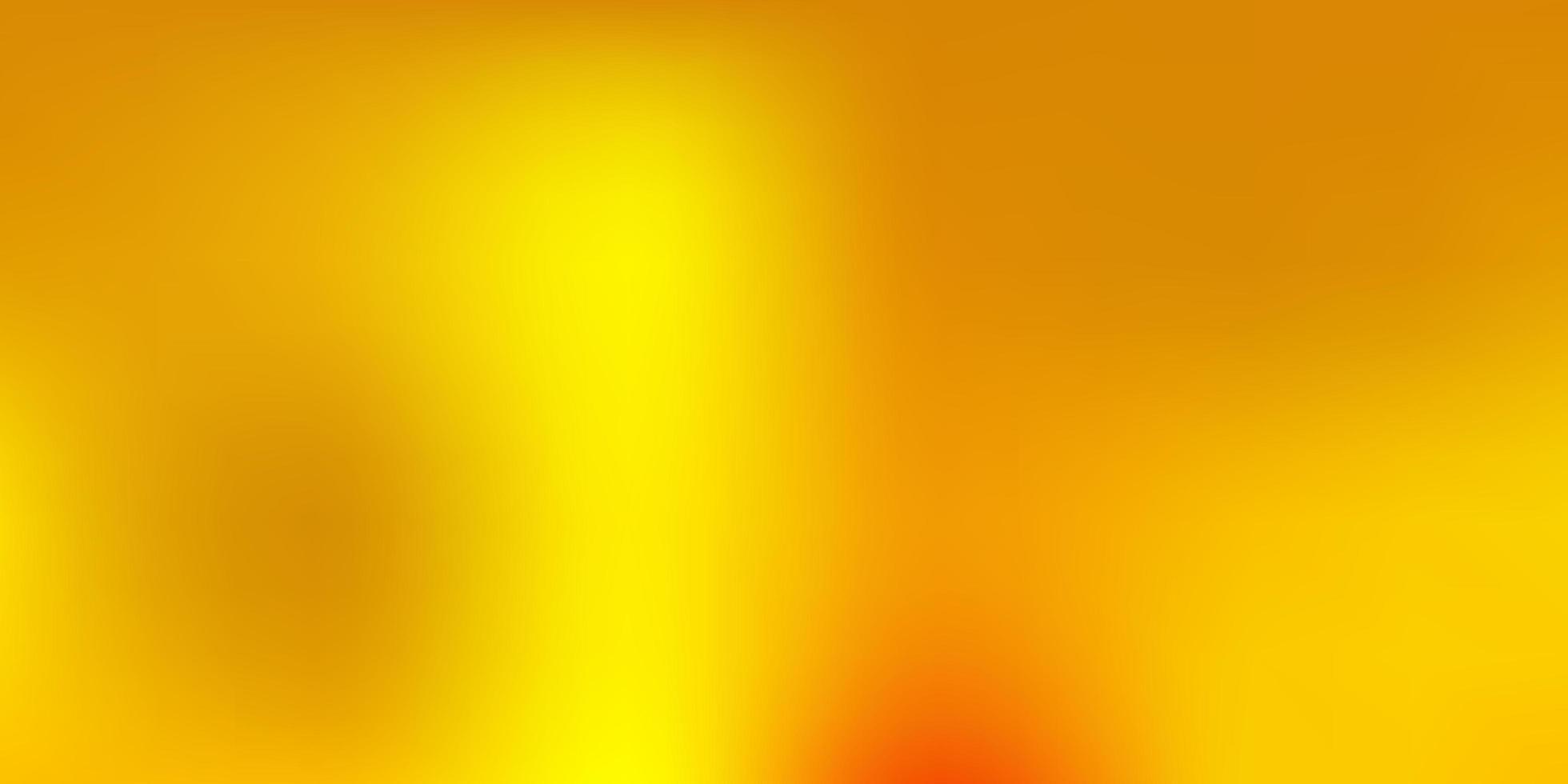 donkergroene, gele vector verloop vervagingstekening.