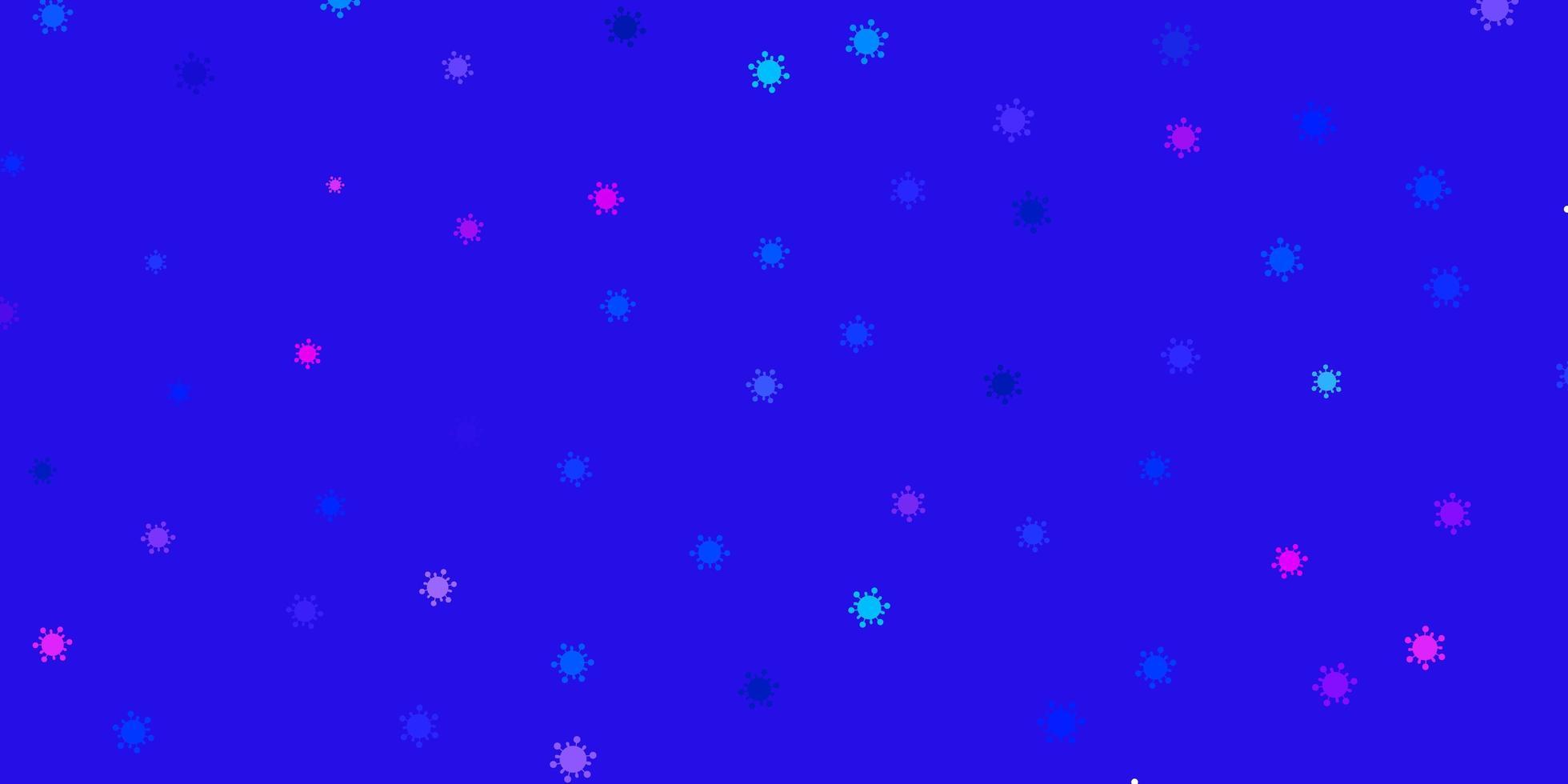 lichtblauw, rood vector sjabloon met grieptekens