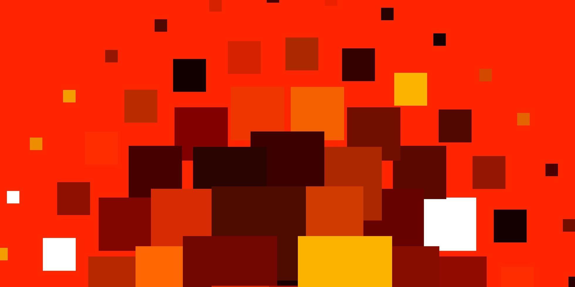 lichtoranje vector sjabloon in rechthoeken.