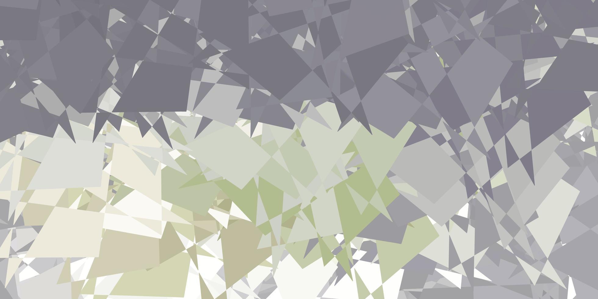 lichtgrijze vectorachtergrond met chaotische vormen. vector