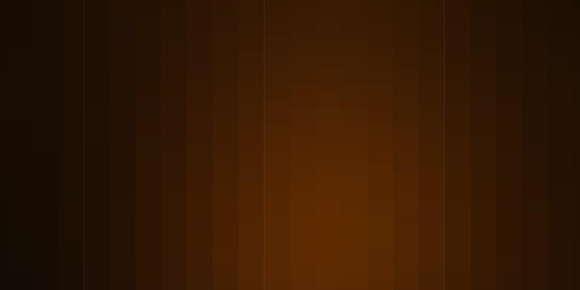 donkeroranje vectortextuur in rechthoekige stijl. vector