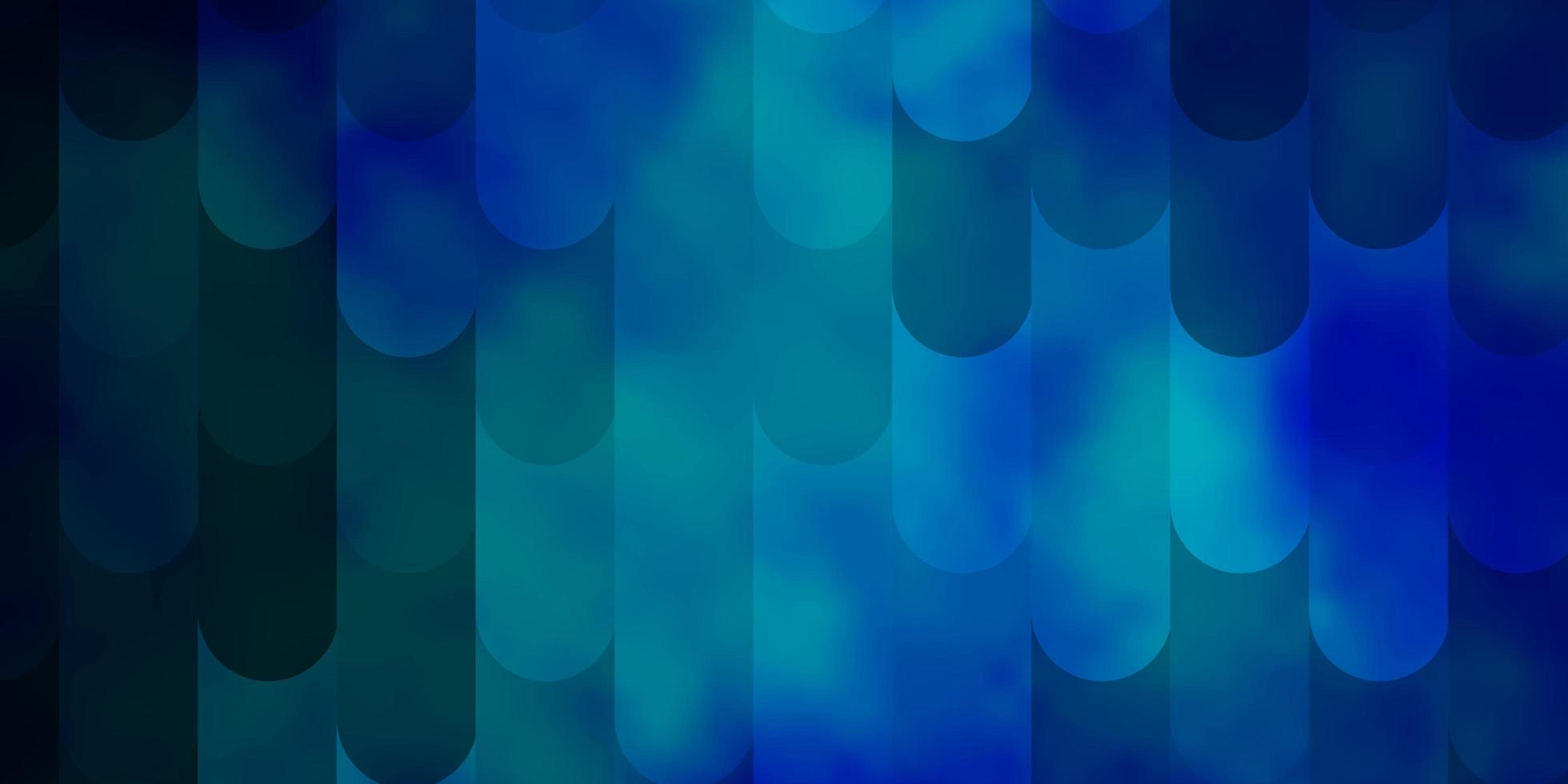 lichtblauwe vectorachtergrond met lijnen. vector