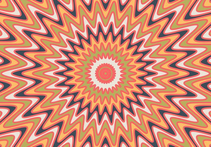 Optische duizeligheid illustratie vector